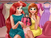 Anna and Ariel Dressing Room