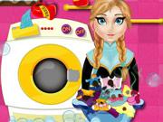 Anna Washing Clothes