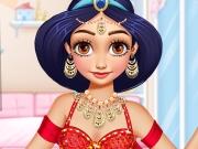 Arabian Princess Visiting Home