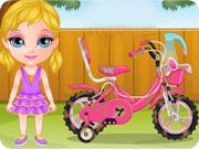 Baby Barbie Bicycle Ride