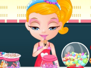 Baby Barbie Candyshop Slacking