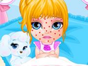 Baby Barbie Chickenpox Attack