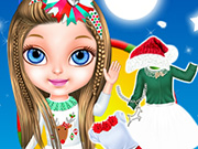 Baby Barbie Christmas Magic