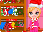 Baby Barbie Christmas Prep