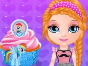 Baby Barbie Little Pony Cupcakes