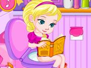 Baby Elsa's Potty Train H5