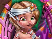 Baby Goldie Injured