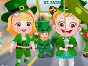 Baby Hazel St. Patricks Day