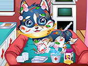 Baby Puppy Doctor Game