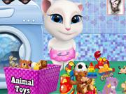 Baby Tom and Angela Washing Toys