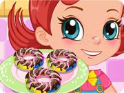 Baked Rainbow Doughnuts