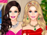 Barbie Christmas Glam