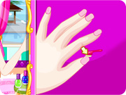 Barbie Nail Design