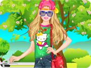 Barbie Park Ride Dress Up