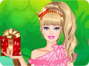 Barbie Romantic Princess Dress up