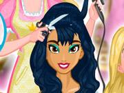 Barbie's Princess Hair Salon