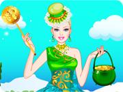 Barbie St Patrick's Day Dress Up