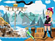 Barbie Teen Pirate Ship Wash