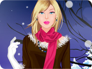 Barbie Winter Fashion Dress up