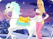 Barbie Winter Pony