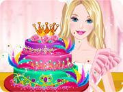 Barbies Diamond Cake