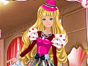 Barbie's Valentine Patchwork Dress H5
