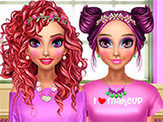 BFF Pink Makeover