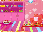 Candy House Decorating