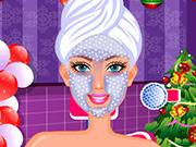 Charming Barbie Christmas Makeover