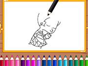 Chibi Princess Drawing