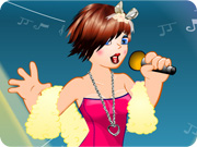 Chic Singer Dress up