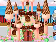 Chocolate Castle Cake