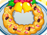 Christmas Wreath Bread