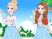 Cinderella's Glittery Dress