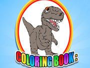 Coloring Book: Dinosaur