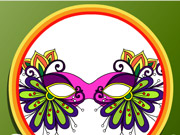 Coloring Book Masquerade Masks