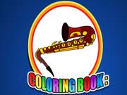 Coloring Book Musical Instrument