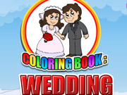 Coloring Book Wedding