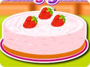 Creamy Strawberry Mint Pie