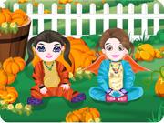 Cute Happy Halloween Kids