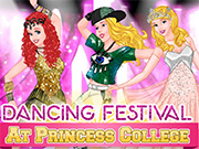 Dancing Festival At Princess College