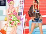 Different Styles Girly vs. Emo vs. Glam