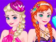 Elsa and Anna Girls Night Out