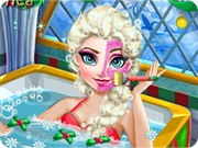 Elsa Christmas Spa Bath