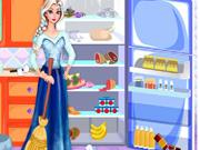 Elsa Fridge Cleaning