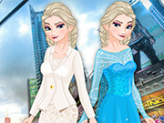 Elsa in NYC