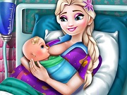 Elsa Mommy Birth