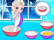 Elsa's Frozen Macarons