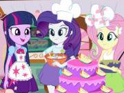 Equestria Cooking Cake