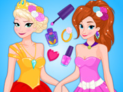 Frozen Prom Nails Designer